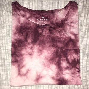 American Eagle soft & sexy tie dye T-shirt